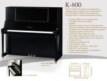 Đàn piano Kawai dòng K series 2014