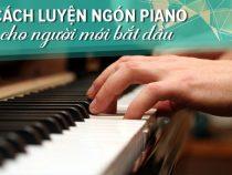 Cách đặt tay thoải mái khi chơi đàn piano cơ