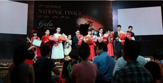 Cuộc thi Piano Cổ điển Quốc tế lần thứ 4 tại Việt Nam:Steinway Competition 2018