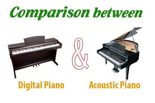 Người mới học nên mua đàn piano điện hay đàn piano cơ
