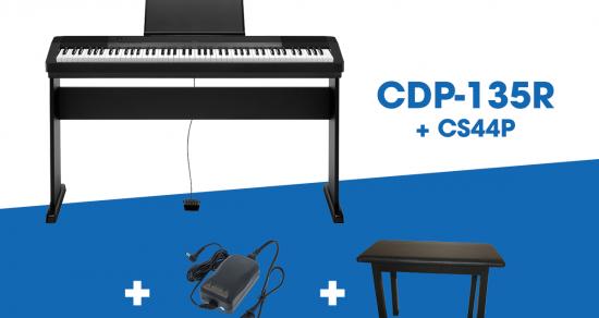 Đàn piano điện Casio CDP 135