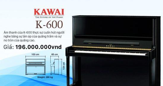 kawai k600