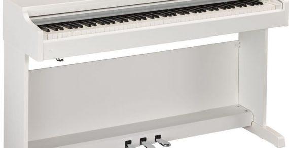 Đàn piano điện Yamaha YDP-163là model nâng cấp của YDP-162 với nhiều tính năng mới,đàn có 88 phím, trọng lượng 42kg, phức điệu 192 nốt, 4 độ nhạy phím giúp bộ cơ bàn phím nhạy hơn, 10 âm thanh tích hợp và demo 10 bài hát, có cổng Bluetooth giúp bạn kết nối với một máy tính iOS hoặc thiết bị hoàn toàn không dây...dưới đây là bài viết đánh giá đàn piano điện Yamaha YDP-163. Đàn piano điện Yamaha YDP-163 phù hợp với cả người mới chơi và nghệ sĩ piano chuyên nghiệp, dùng biểu diễn ở sân khấu hoặc trong nhà đều ổn. Ngay khi đi vào chi tiết hơn, bạn có thể dễ dàng nhận thấy YDP-163 sử dụng bộ cơ bàn phím GH3 tốt hơn model cũ là Yamaha YDP-162, bao gồm độ nhạy phím cho cảm giác mượt mà hơn. Yamaha YDP-163 có động cơ âm thanh Pure CF được lấy mẫu âm thanh từ cây grand piano của Yamaha CFIIIS cùng với 9 âm khác. Ngoài ra, YDP-163 cũng có nhiều tính năng cải tiến khác so với model cũ YDP-162. Bạn sẽ nghĩ rằng nó cần rất nhiều năng lượng để duy trì tất cả các tính năng mới cải tiến này nhưng trái lại, công suất tiêu thụ điện năng lại khá thấp. Dù vậy, đàn piano điện Yamaha YDP-163 lại rất mạnh mẽ, người chơi có thể thưởng thức chế độ tai nghe CFIIIS của Yamaha với trình tối ưu hóa âm thanh stereo được tích hợp sẵn trong đàn. + Âm thanh Cùng với động cơ âm thanh Pure CF, đàn piano điện Yamaha YDP-163 có khả năng bắt chước 3 âm grand piano bao gồm 2 âm piano điện, âm pipe organ, âm vibraphone, âm jazz organ CFIIIS, âm harpsichord và âm string. Phức điệu 192 nốt mang đến cho người chơi trải nghiệm âm thanh sống động và linh hoạt. Sự kết hợp giữa loa đôi và tính năng lấy mẫu toàn bộ âm thanh mang lại độ nhạy phím tuyệt vời cho người chơi. Ngược lại, Yamaha YDP-162 mô phỏng tốt chỉ mỗi âm thanh của đàn grand piano. + Độ nhạy phím Bộ cơ bàn phím 88 phím của đàn piano điện Yamaha YDP-163 có hệ thống hoạt động giống như một cây đàn piano cơ, trong đó các phím lớn hơn nhấn nhẹ hơn các phím bên lề. YDP-163 có bộ cảm biến chính GH3 mới, mang lại độ nhạy phím vượt trội và âm thanh giống p
