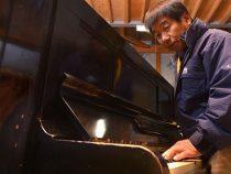"""Chiếc đàn piano """"sống sót"""" sau vụ ném bom hạt nhân"""