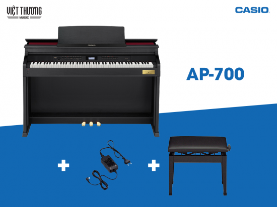Đàn piano điện Casio Celviano AP-700 BK