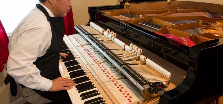 Quá trình sản xuất một cây đàn piano Shigeru Kawai đều được thực hiện và kiểm tra từ 3 đến 5 lần.