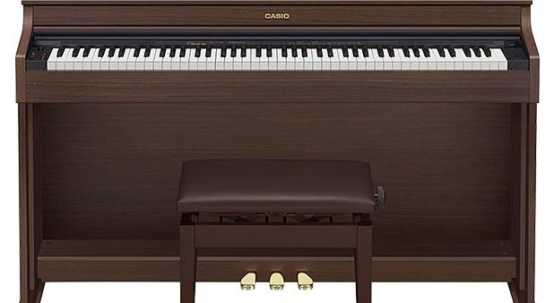 Đàn piano điện Casio AP-470 màu nâu gỗ