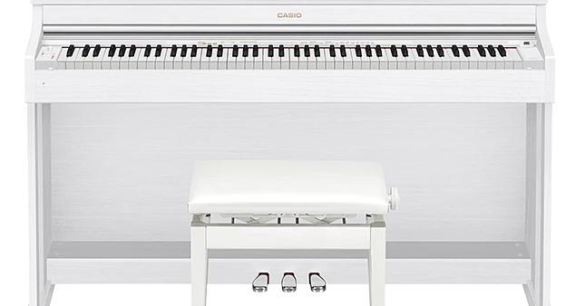 Đàn piano điện Casio AP-470 màu trắng