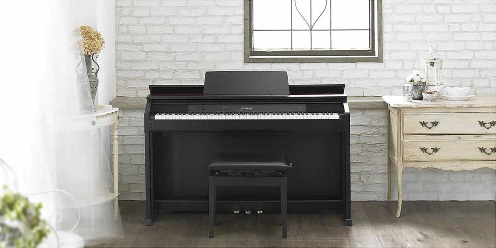 Tìm hiểu về dòng đàn piano điện Casio Celviano series
