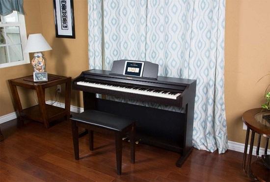Kiểu đàn piano điện Roland đơn giản