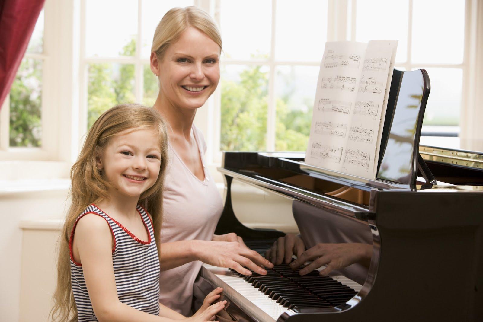 khóa học piano cho trẻ em