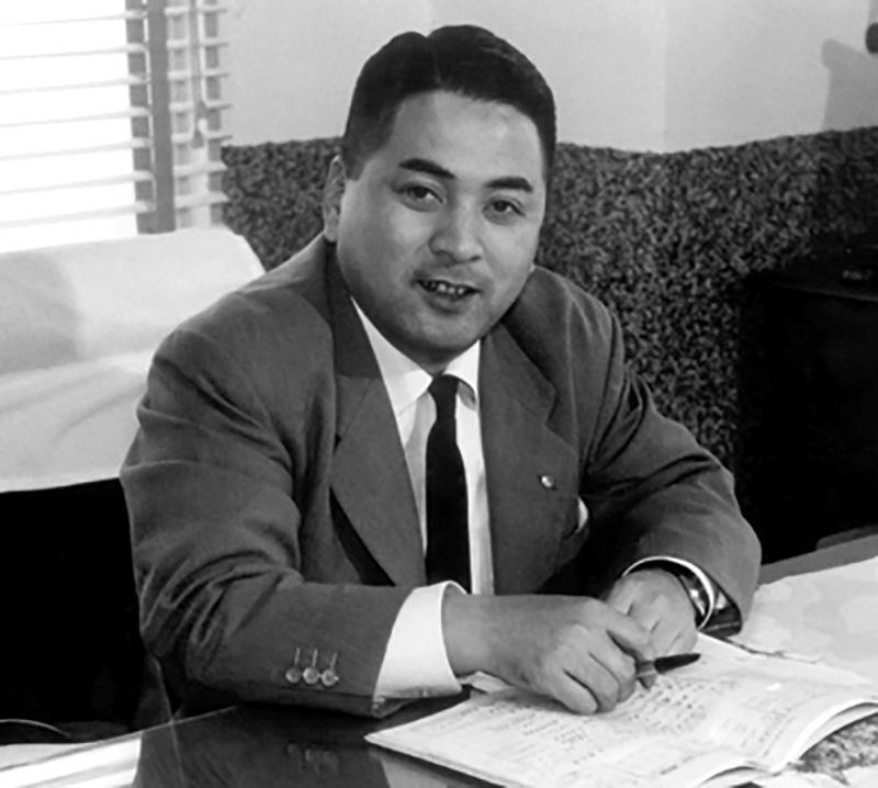 Shigeru Kawai lúc còn trẻ